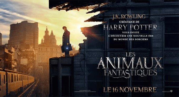 Les Animaux Fantastiques (Fantastic Beasts and Where to Find Them, David Yates, 2016)