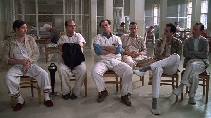 Vol au-dessus d'un nid de coucou (One Flew Over the Cuckoo's Nest, Milos Forman, 1975)