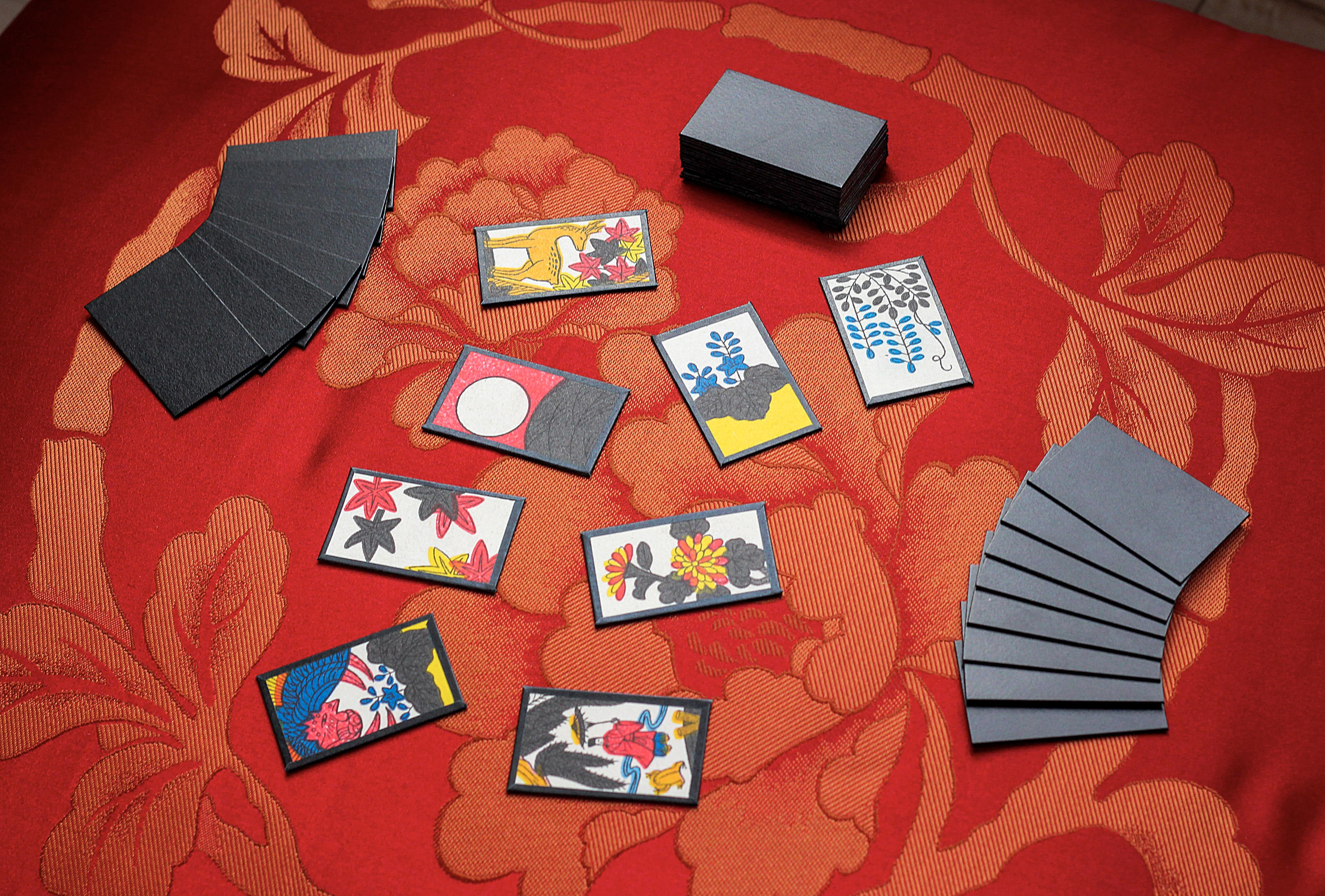 Hanafuda, le jeu de cartes traditionnel japonais