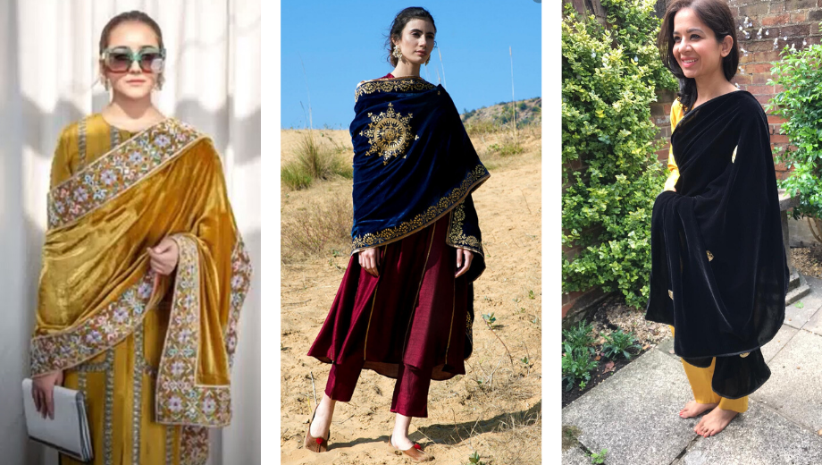 Summer Styling Of The Velvet Dupatta UK – Indian Fashion Blogger In The UK
