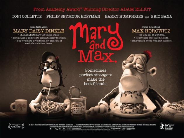 Mary et Max (Mary and Max, Adam Elliot, 2008)