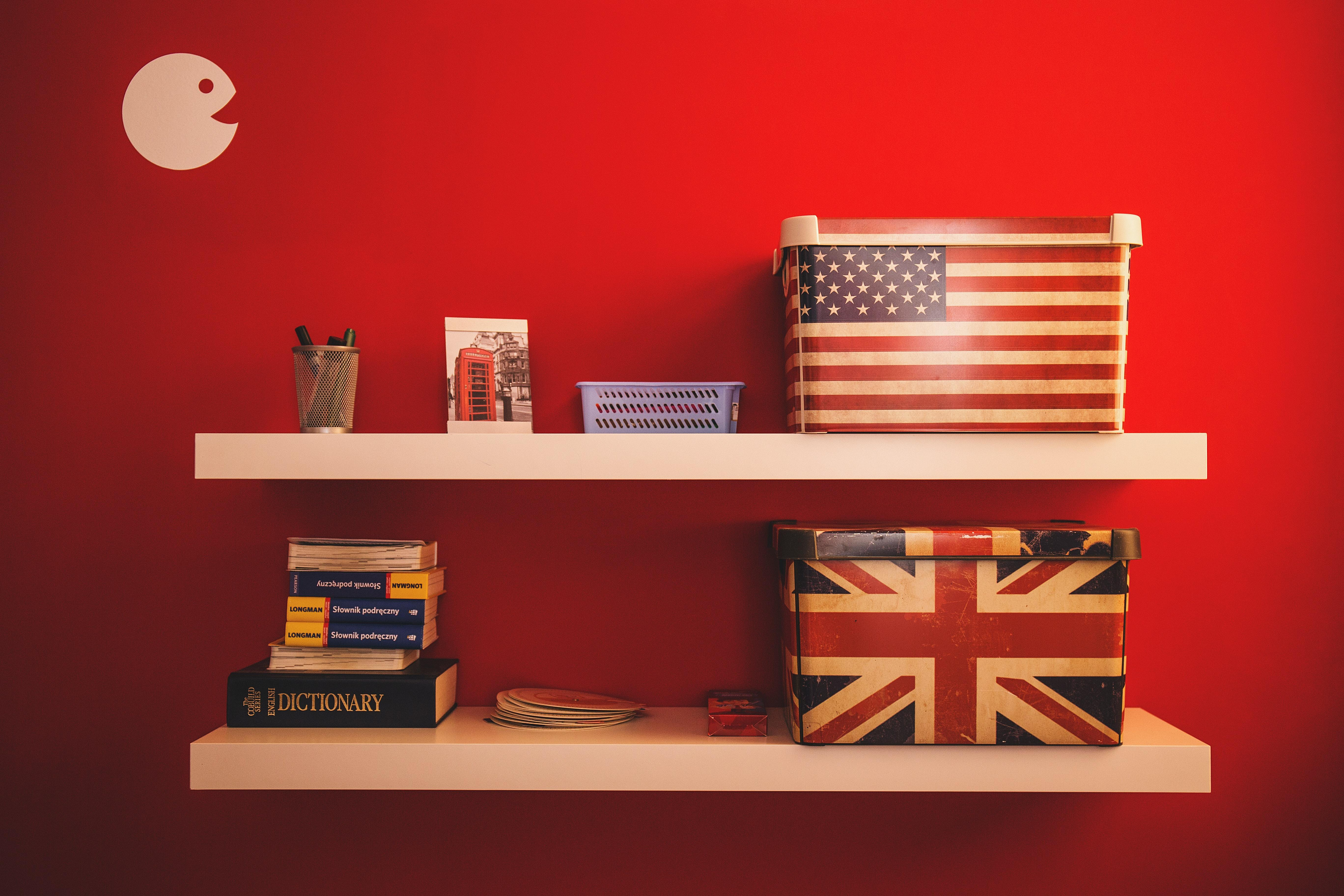 The differences between English and American English