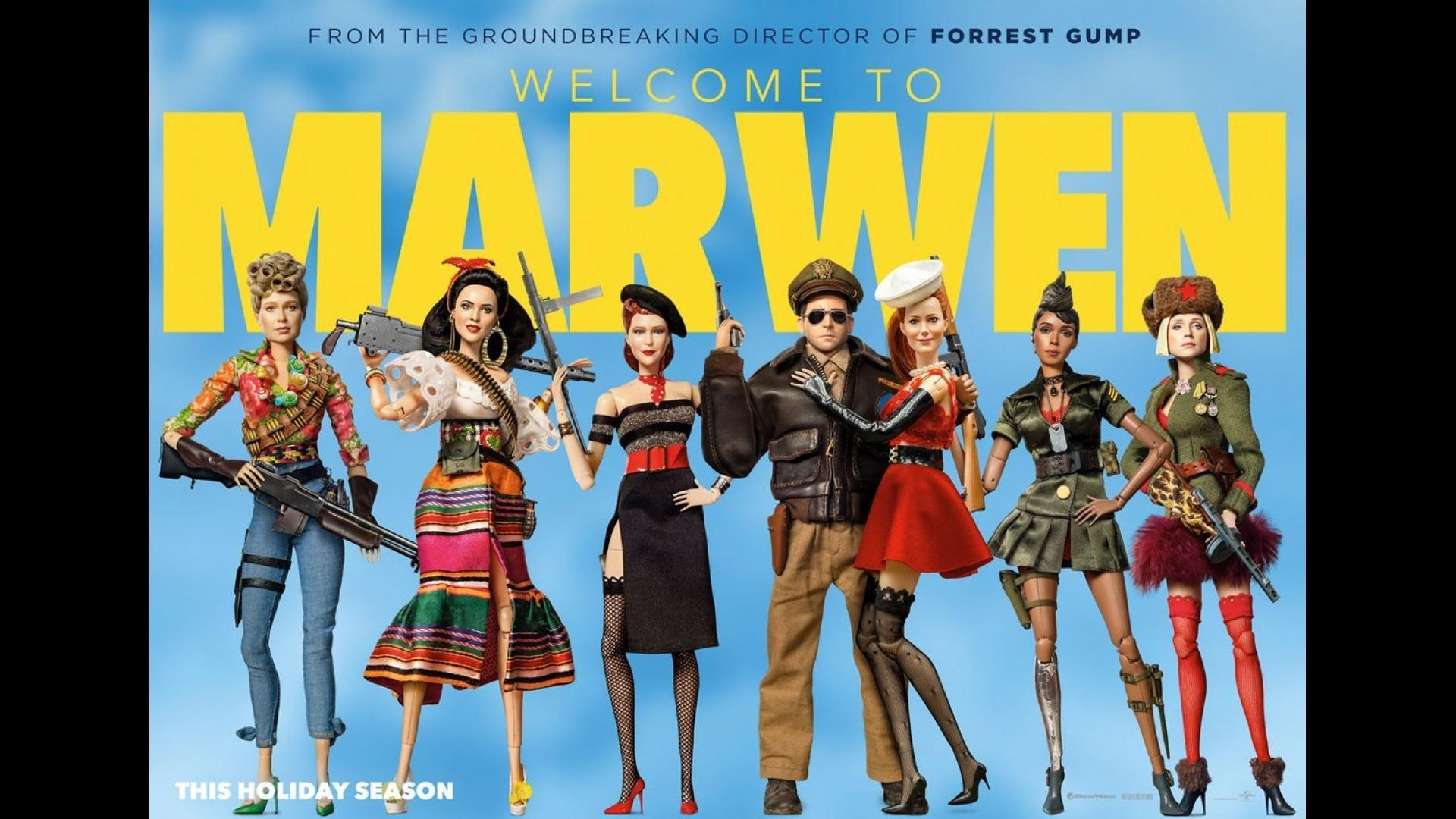 Bienvenue à Marwenn (Welcome to Marwen, Robert Zemeckis, 2018)