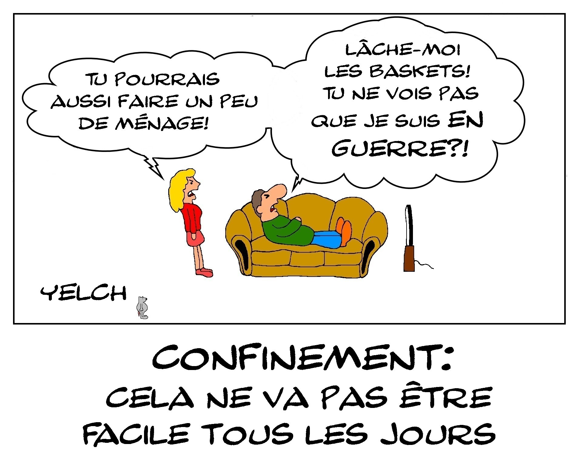 CONFINEMENT ET MENAGE