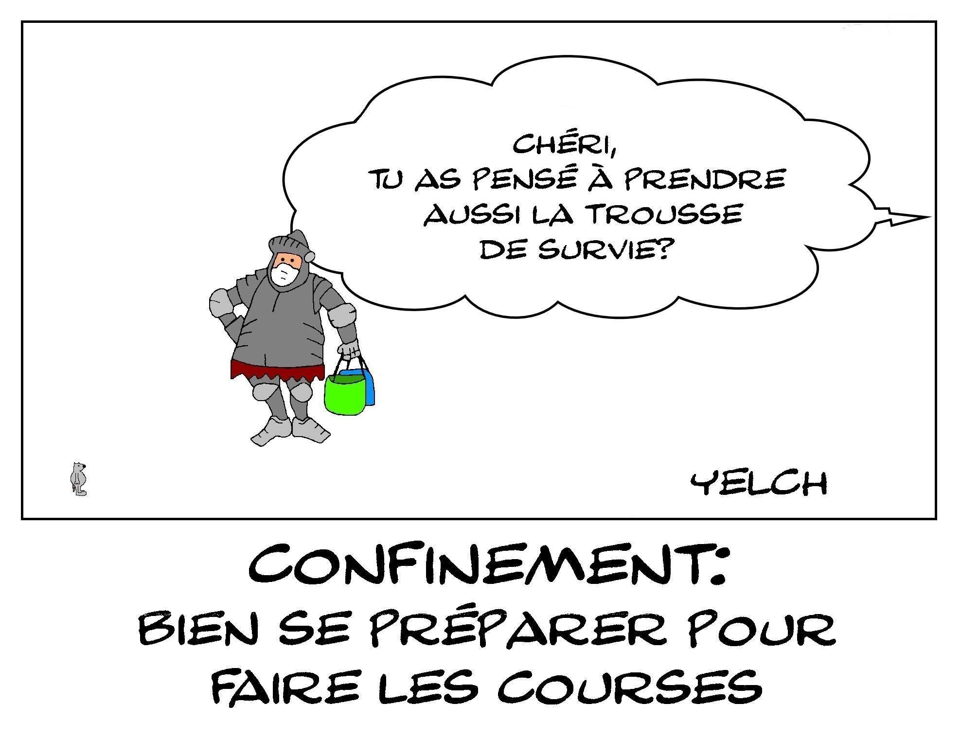 LES COURSES DU CONFINEMENT